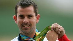Ed Ling won Great Britain's third medal of the Rio Olympics with bronze in the men's trap shooting.  Ling, 33, beat Czech David Kostelecky 13-9 in an assured performance to secure his first Olympic medal.