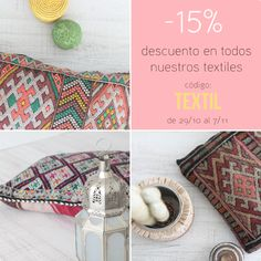 textiles marroquíes.moroccan cushion. dar amïna shop
