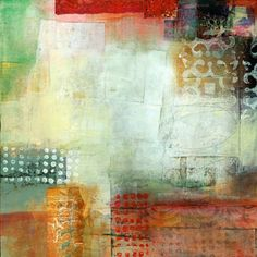 "Looking Through, 12""x12"" Sketchbook Challenge, Jane Davies, Painted Paper, Art Background, Mixed Media Collage, Diy Canvas, Art Journal Inspiration, Geometric Art, Decoration"