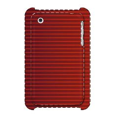 Red Stripe iPhone 3G/3GS 3D Printed Case White iPhone 3G/3GS 3D... (€21) ❤ liked on Polyvore featuring accessories and tech accessories