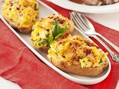 Ost, Recipe For Mom, Food Dishes, Food Inspiration, Baked Potato, Great Recipes, Tapas, Vegetarian Recipes, Breakfast Recipes