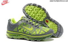 Discount Mens Nike Air Max 2011 Grey Volt Shoes Sports Shoes Store