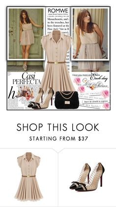 """""""Romwe 2/XII"""" by merima-p ❤ liked on Polyvore featuring Whiteley, women's clothing, women, female, woman, misses and juniors"""