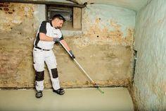 Die Kellerböden in Altbauten entsprechen meist nicht dem heutigen Standard einer Betonbodenplatte.