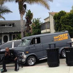 I hope @thefunctionkey was able to avoid the clutches of #TheCreepMachine when she took this photo near Redondo Beach on the PCH. #vanspottersOnTour2k15 #TeamVanspotting #vanspotting
