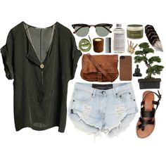 """""""Charcoal and Tussocks"""" by vv0lf on Polyvore"""