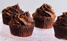 Dulcemente Nadia: Cupcakes Chocolate y Naranja..