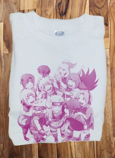 Custom Fanmade Naruto Group T-Shirt Tee Tshirt Custom Fanmade Persona 1 2 3 4 PS2 3 4 T-Shirt Tee Tshirt merchandise gear poster dvd keychain figure soundtrack plush bag game japan japanese kanji game resin