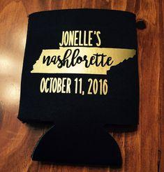 Nashlorette bachelorette party can coolers #SpanglerEntertainment #Spangler #NashvilleEvents #EventEntertainment