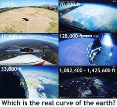 "705 To se mi líbí, 202 komentářů – FlatEarthTshirtCo (@flatearthtshirtco) na Instagramu: ""Earth were a ball 25,000 miles in circumference as NASA and modern astronomy claim, spherical…"""