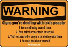 How to recognize toxic people -- and what to do about them