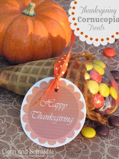 Clean & Scentsible: Cornucopia Treats