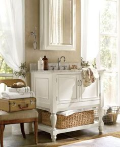 I admire the farmhouse style because it's amazingly cozy and inviting; spaces done in this style make me recall them often and with pleasure. Today I've rounded up some cool ideas to make your bathroom look like that, and I'm sure that it won't cost you a lot. Extensive use of wood is rather popular...