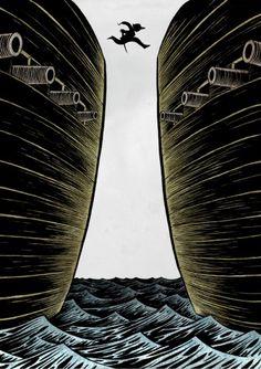 Ilustración, Seisdedos, Piratas