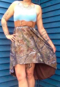 Hey, I found this really awesome Etsy listing at https://www.etsy.com/listing/191049123/realtree-hi-low-skirt
