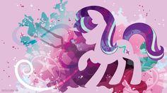 MLP. Starlight Glimmer silhouette wallpaper!!!