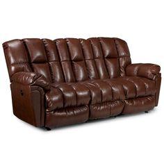 Best Home Furnishings Reclining Sofa, Big Bear