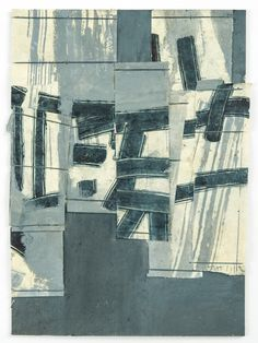 Matthew Harris 'Shide Fragment' II, 2012 Mixed media on linen bound Japanese paper, 29 x 21 cm Textiles, Art Abstrait, Textile Artists, Embroidery Art, Fabric Art, Collage Art, Collages, Painting Inspiration, Painting & Drawing