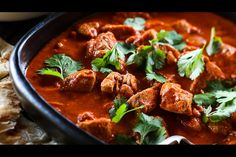From popular Indian recipes like butter chicken and saag, through to Asian recipes like laksa and Thai green curries, here's a round-up of our best chicken curries. With plenty of spice and rich, deep - Eat Well (formerly Bite) Curry Recipes, Asian Recipes, Ethnic Recipes, Easy Lettuce Wraps, Sushi Lunch, Indian Dessert Recipes, Savoury Baking, Indian Dishes, Butter Chicken