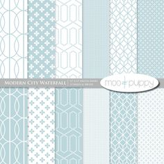 Digital Scrapbook Paper by Moo and Puppy