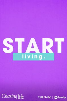 There's no better day than today to start #ChasingLife!
