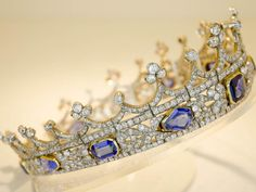 Queen Victoria's sapphire coronet is under threat. http://www.independent.co.uk/news/uk/home-news/queen-victoria-crown-coronet-could-leave-uk-unless-british-buyer-is-found-a7212896.html