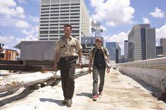 The walking dead, Glenn and Rick