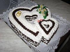 penové srdce Cake, Desserts, Tailgate Desserts, Deserts, Kuchen, Postres, Dessert, Torte, Cookies
