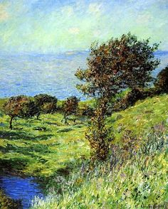 bofransson: Gust of Wind Claude Monet - 1881