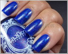 Takko Lacquer - We're All Mad Here 5 by NailsandNoms, via Flickr