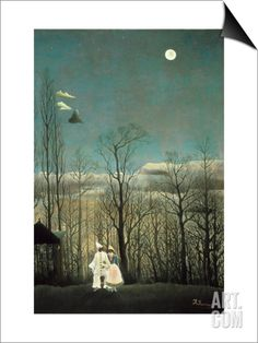 Carnival Evening SwitchArt™ Print by Henri Rousseau at Art.com
