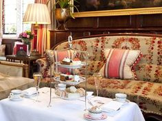 "The Milestone Hotel ""Request a table in the Park Lounge for a luxuri - The Independent GBP31.50"