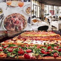 Just a few minutes from La Maison Saint Germain, let's discover a new Italitan restaurant : Pizza Chic. Antipasti, wines, and maybe the best pizzas you can eat in Latin Quarter in a contemporary and swindle decor. They use rare products and directly imported from Italy, it is not cheap but it's worth it !