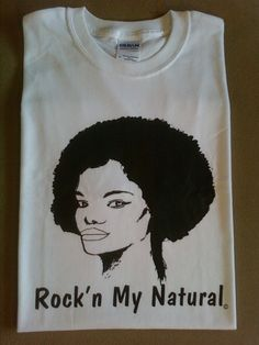beautiful natural hair t-shirt