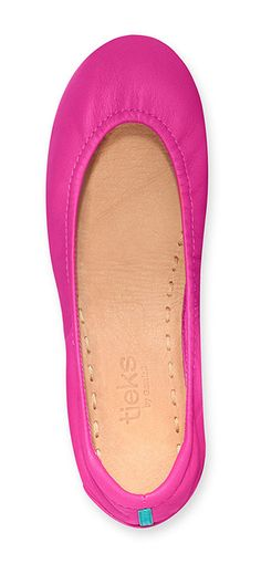 Make a sweet and sultry statement with Fuchsia Tieks!