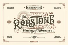 Ropstone + Special Bonus by Graptail on @creativemarket