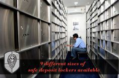 9 different sizes of safe deposit lockers available at ISVL  For pricing and offers contact us on - 02026165899 / 02024246060 | www.isvl.in  Corporate Off: 3rd Floor, Nityanand Complex, Narangi Baug Lane, 247/A, Bund Garden Road, Pune - 411 001.  Our Branches: Kemps Corner, Mumbai | Bund Garden, Pune | Pune Safety Vaults LLP, Gangadham, Pune  ‪#‎IndiaSafetyVaults‬ ‪#‎Pune‬ ‪#‎Mumbai‬ ‪#‎Security‬