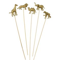 Party Animals on a Stick (Set of 8) | Shop Sweet Lulu