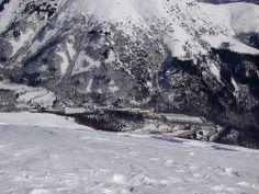il Santuario di Oropa dai 1950 m. della Muanda. Piemonte - Biella