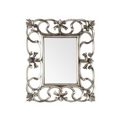 Wall Mirror, Entwined Swirl Design, Champagne Finish