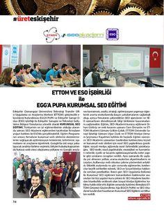 Seo Akademi olarak 19 - 20 Nisan tarihlerinde Eskişehir Osmangazi Üniversitesi'nde verdiğimiz Seo Eğitimi ile ilgili Eskişehir Objektif Dergisi'nde haberimiz yayınlanmıştır. http://eskisehirobjektif.com/archives.asp?page=MAYIS2016#e-dergi/page18