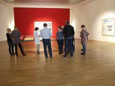 Kultur-Tweetup im MMK Frankfurt.