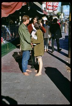 Hippies of Haight Street, San Francisco, 1967