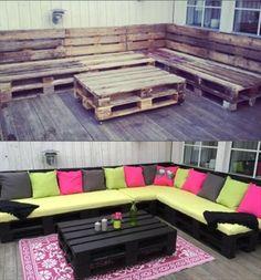 DIY: Πέντε τρόποι να γίνει έπιπλο μια ξύλινη παλέτα |thetoc.gr