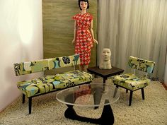 more MCM doll furniture