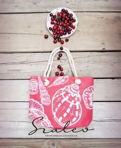 Cherry bag with naval rope.   Spring-summer 2016. #bag Szaleo.pl | Be new fashioned & accessorized!
