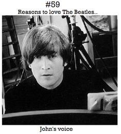 Reasons to love The Beatles. [Would be reason #1 for me.-Trend]