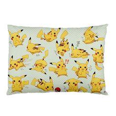 New Hot Gift! pokemon pikachu fans Pillow case Standard Size 30'' x 20'' Bithday gift!! #3 on Etsy, $13.91