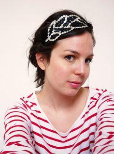 Le headband de nuit : DIY !