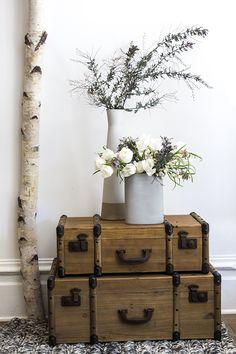 Blooms in season - March Flowers used in this arrangement: - Liberstar Tulips - Snow drops - Ranunculus - Acacia - Fritillaria
